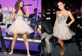 Who wore this dress best?