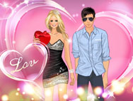 Romantic Valentine's Day Dressup