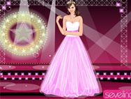 Miley Cyrus Prom dressup
