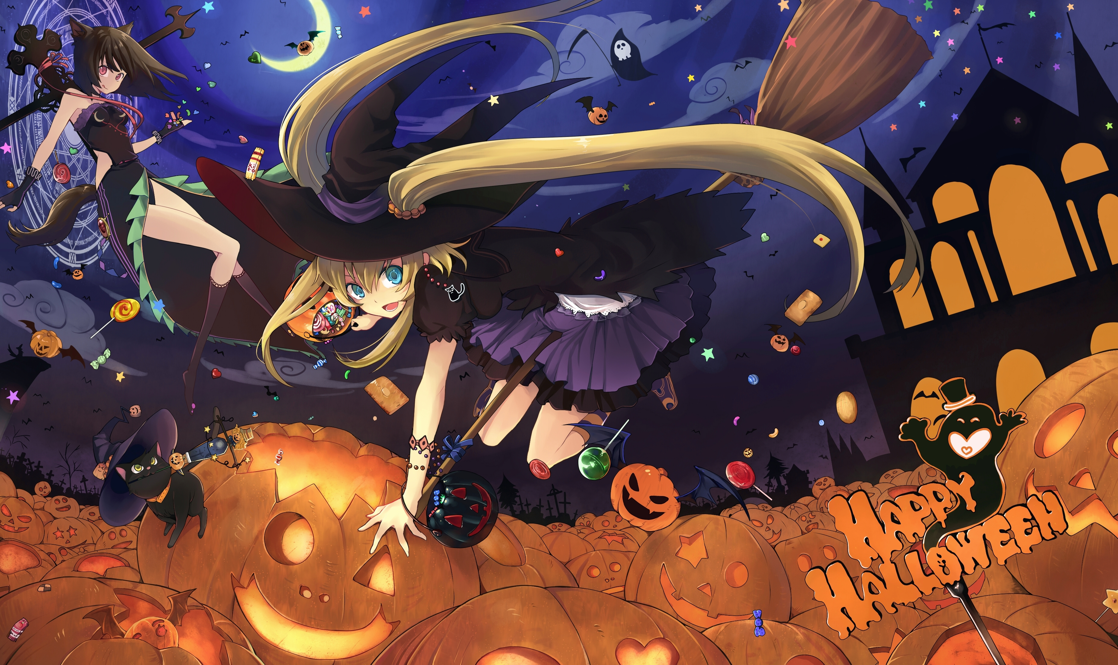 ▻ Wallpapers – Happy Halloween | • Sevelina Games for girls •