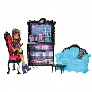 Clawdeen Wolf coffin bean play set (Monster High) 1
