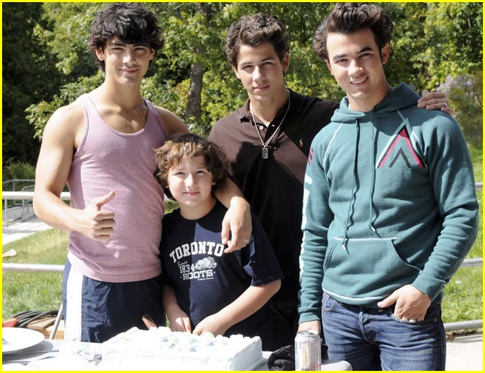 Nick Jonas Celebrates Birthday with Camp Rock Cast