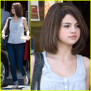 Selena Gomez new hairdo