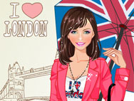 I Love London – Dress Up Game